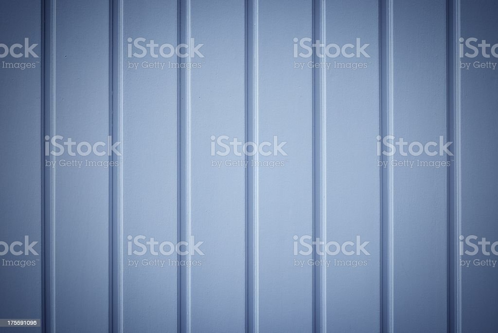 Painted Wooden Planks stock photo