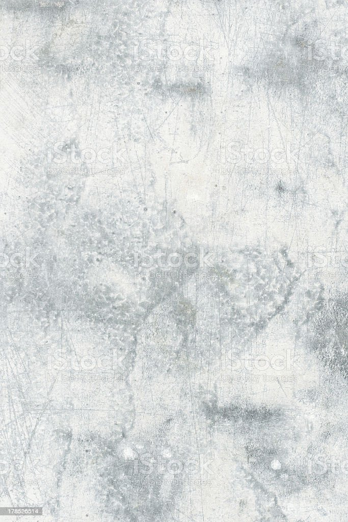 Painted zinc plate surface royalty-free stock photo