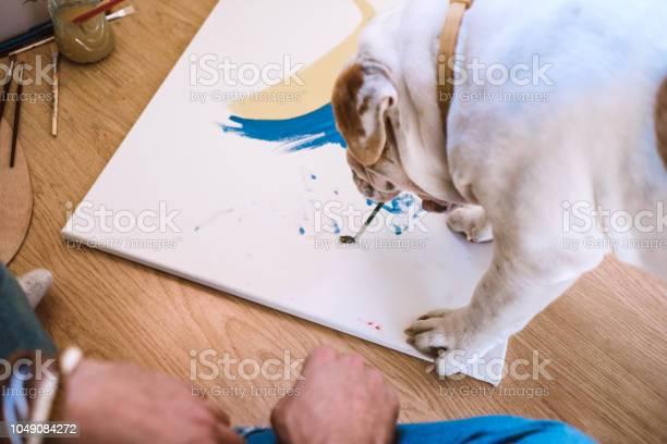 Painter bulldog picture id1049084272?b=1&k=6&m=1049084272&s=612x612&h=oqbeuccaid0hmur 5i2gg1gn1 jwt53hri8xnhiy  u=