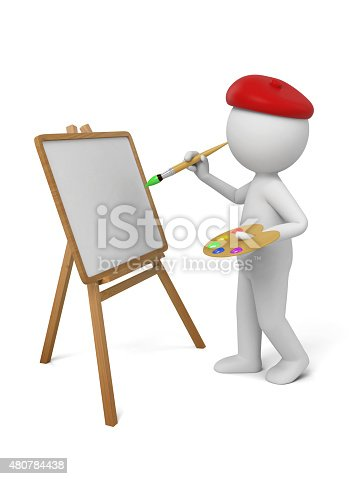 869781130 istock photo painter 480784438