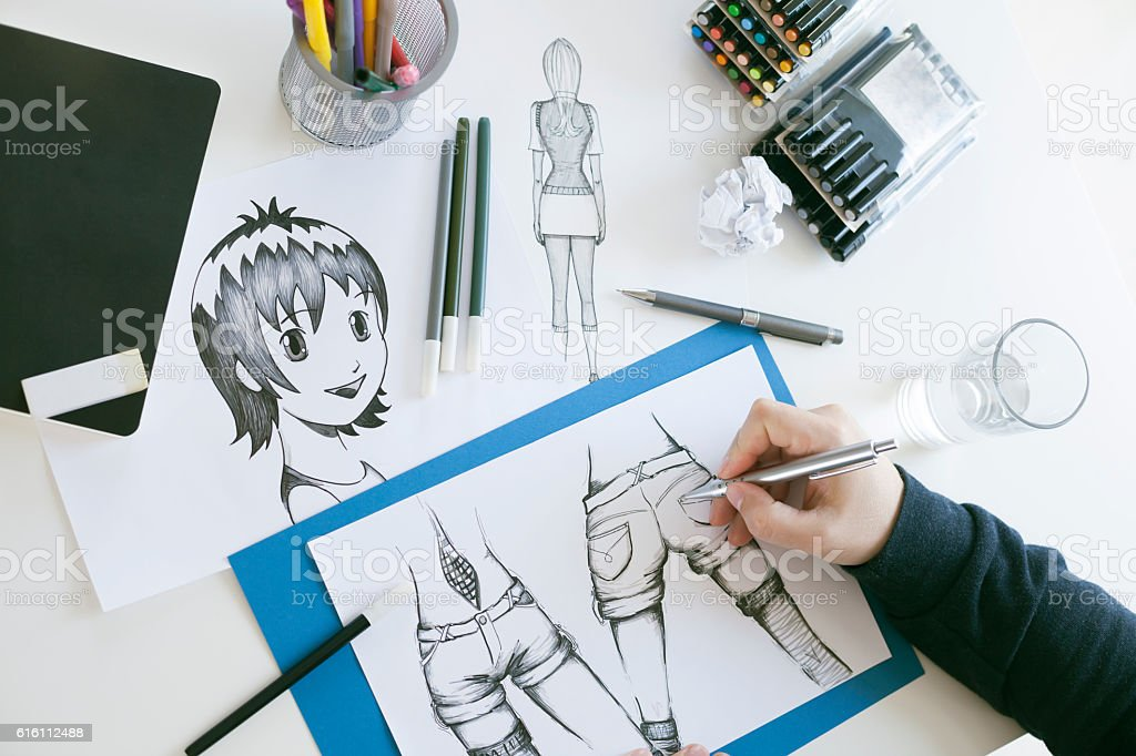 Pintor - fotografia de stock