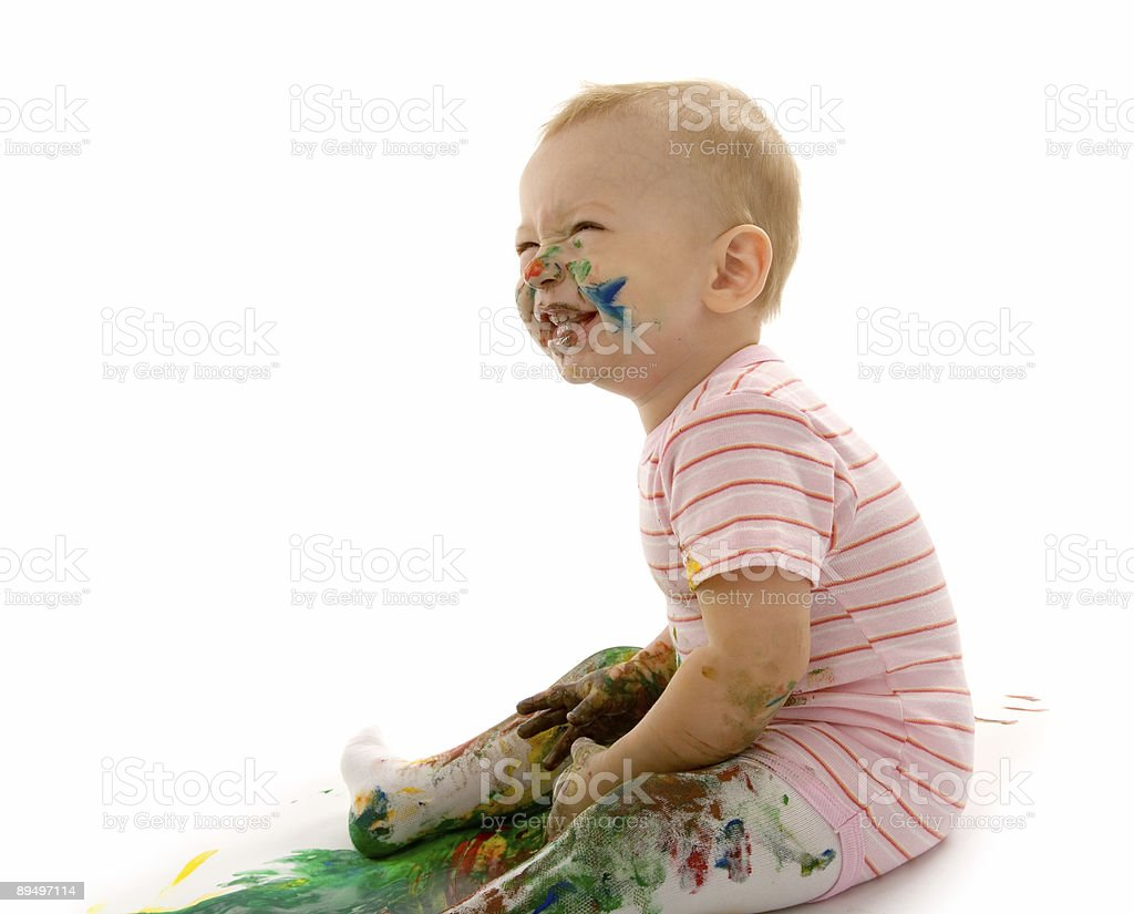 painter royalty free stockfoto