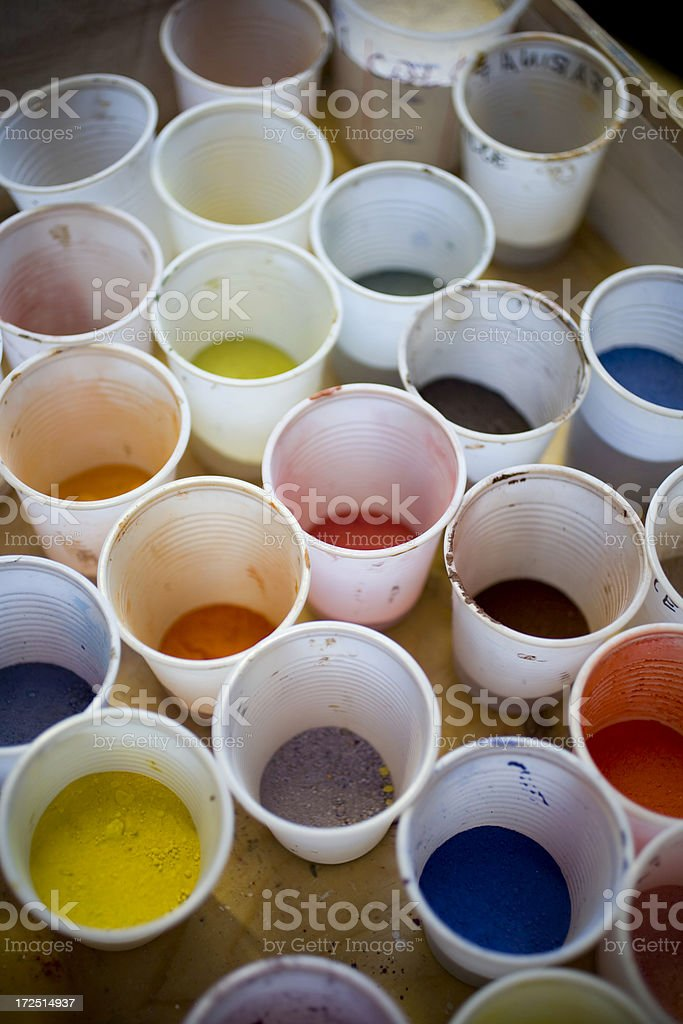 painter stuff royalty-free stock photo