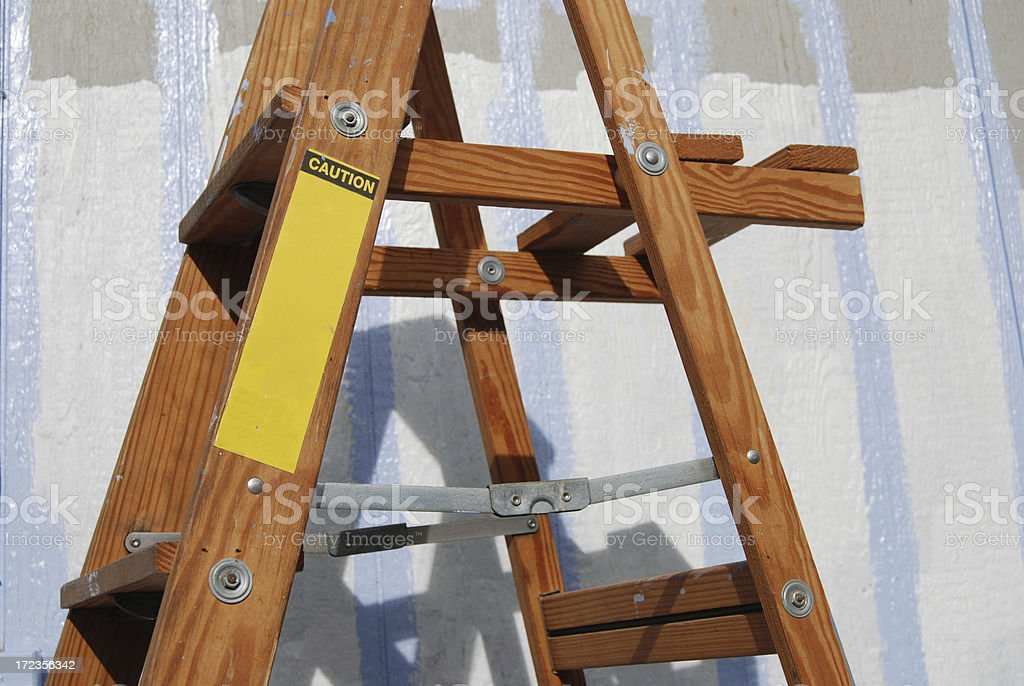 Painter's Ladder royalty-free stock photo