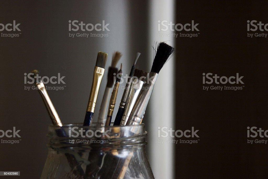 Painter's Tools royalty-free stock photo