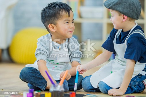istock Painting a Picture Together 653274692