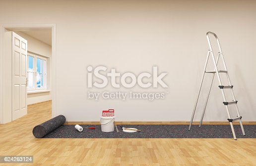835790922istockphoto Painting a wall 624263124