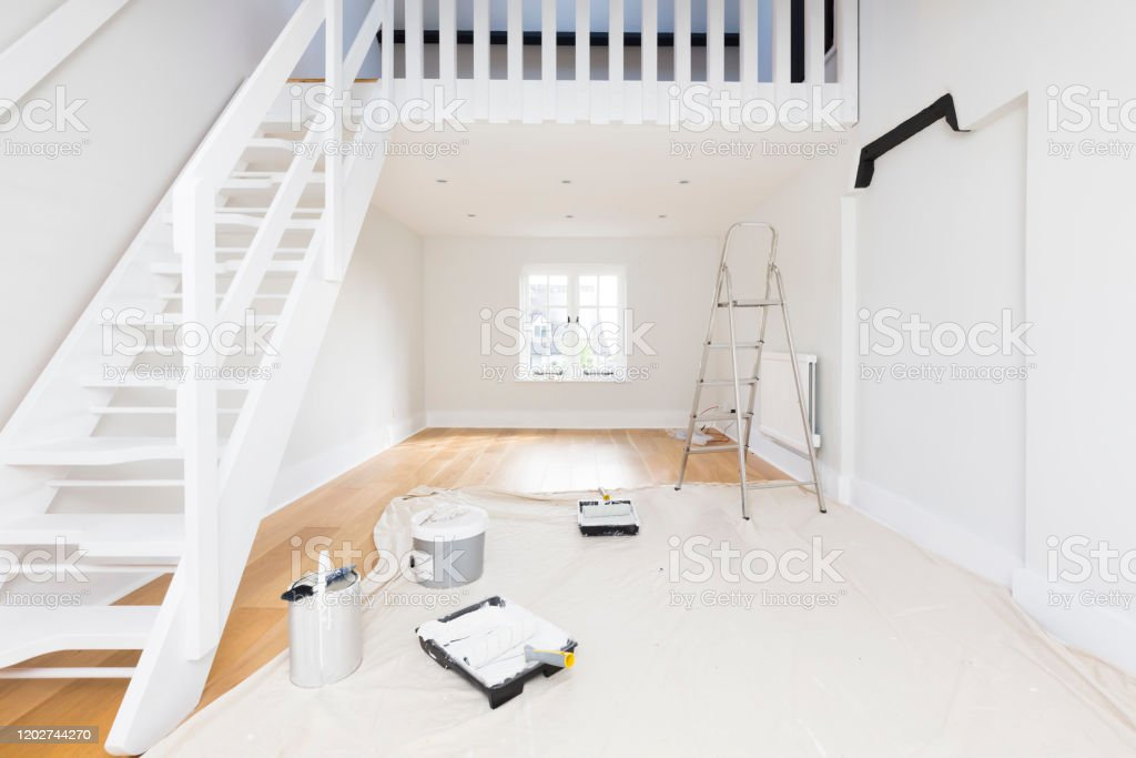 Painting And Decorating A Room Stock Photo Download Image Now Istock,Standard House Brick Dimensions