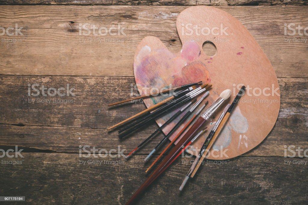 Fondo de pintura - foto de stock