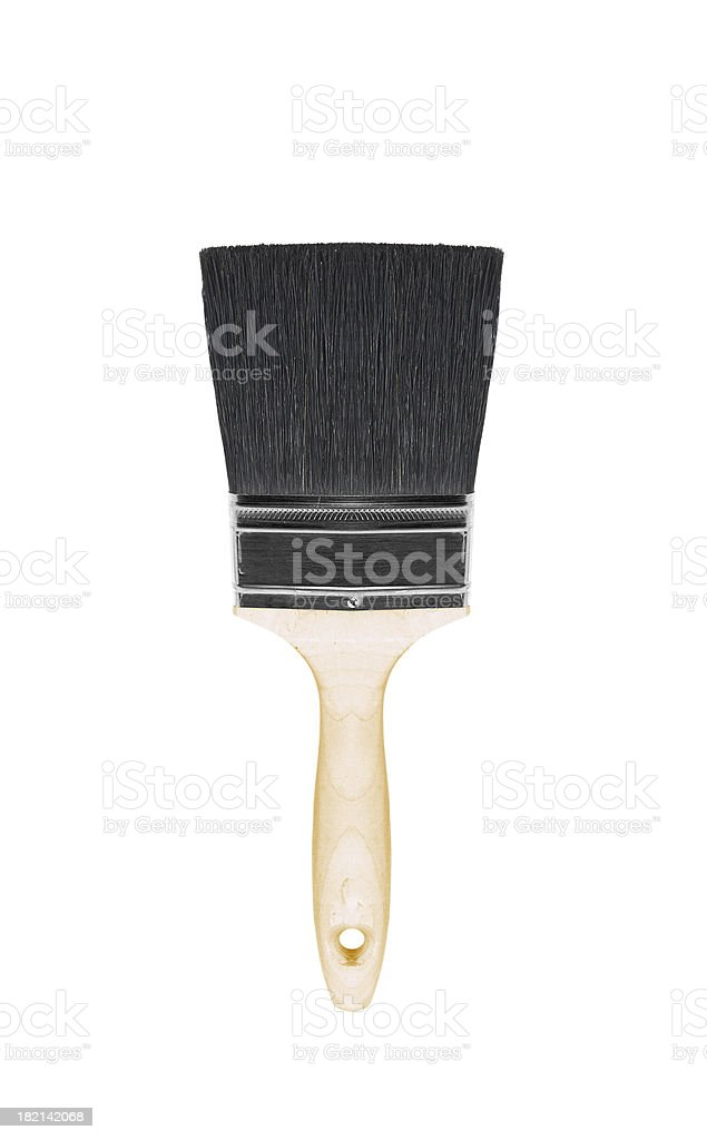 Painting brush isolated on white stock photo