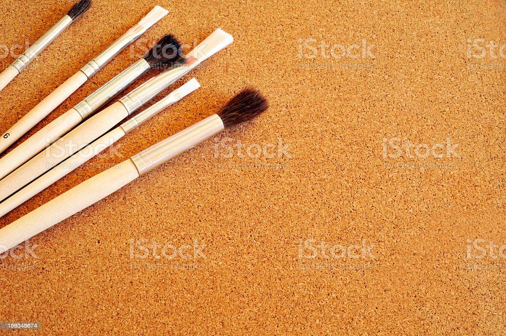 painting brush royalty-free stock photo