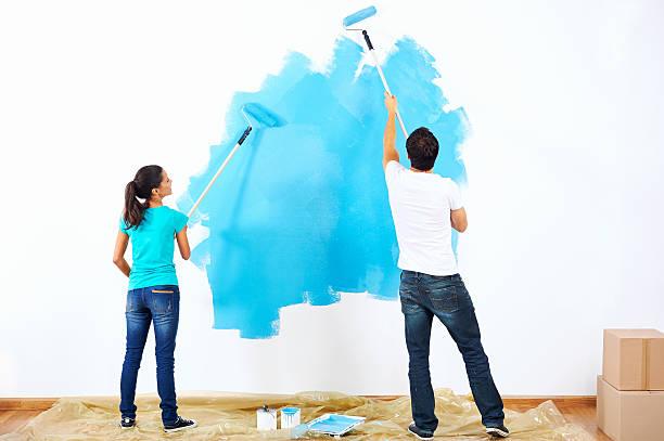 couple de peinture - Photo