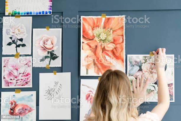 Malarstwo Hobby Pomysłowy Talent Rysunek Akwarela - zdjęcia stockowe i więcej obrazów Fotografia