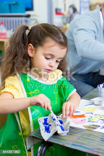 544351868 istock photo Painting in Nursery 544357360