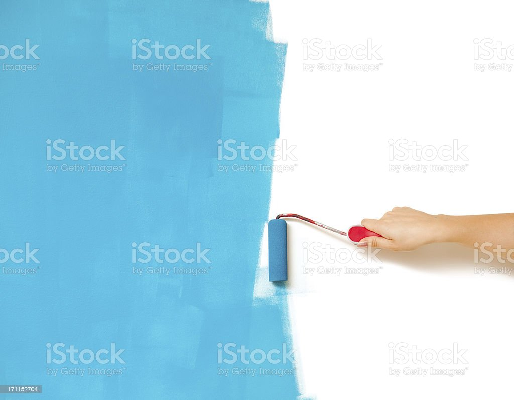 Painting stock photo