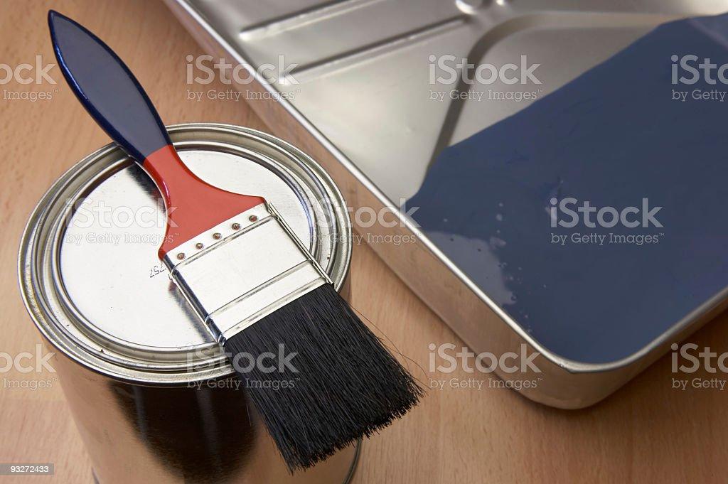 DIY - Painting royalty-free stock photo