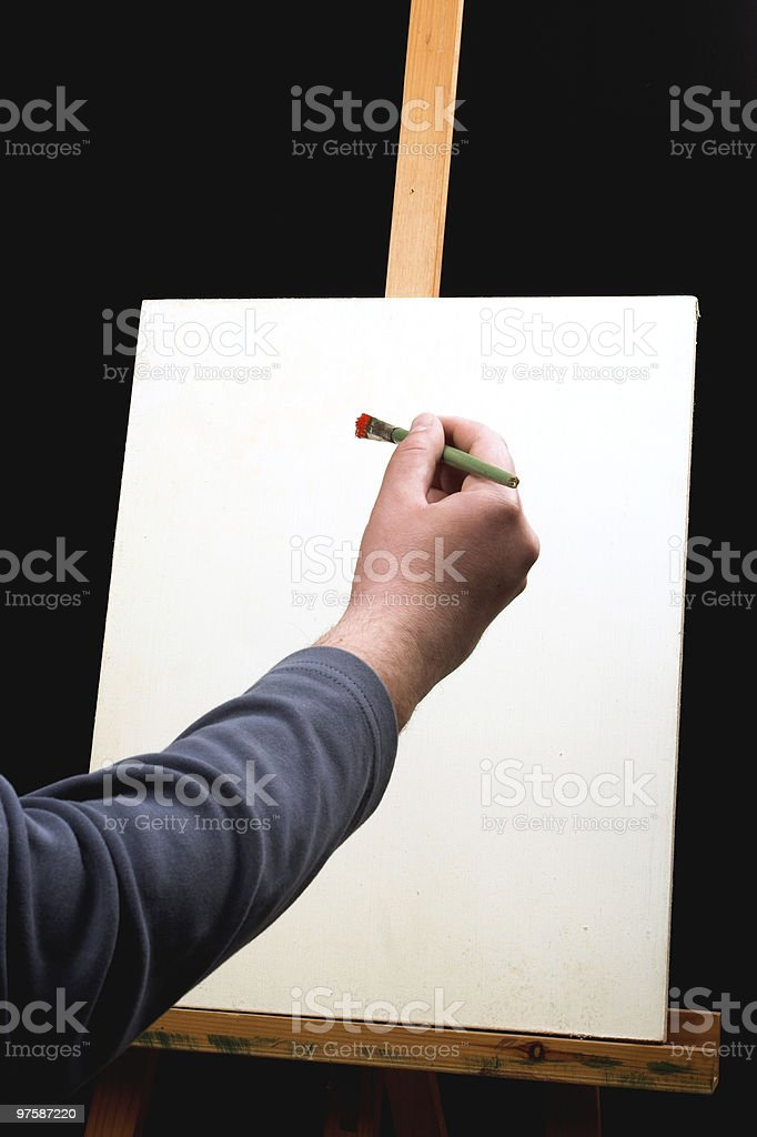 painting royalty-free stock photo