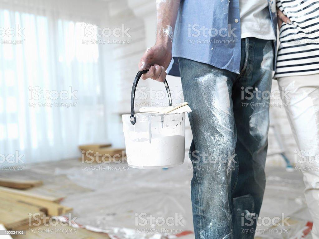 Painting Preparation royalty-free stock photo