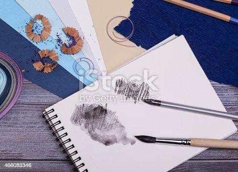 istock painting supplies 466083346