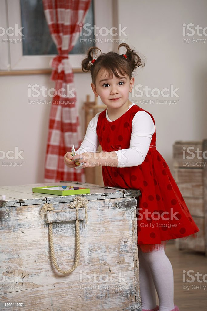 Painting time! royalty-free stock photo