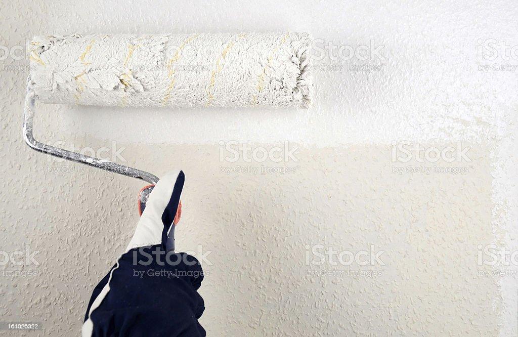 Painting white royalty-free stock photo