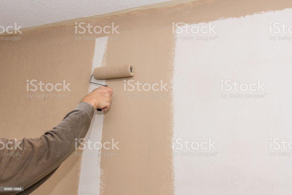 Pintura de trabajo - foto de stock