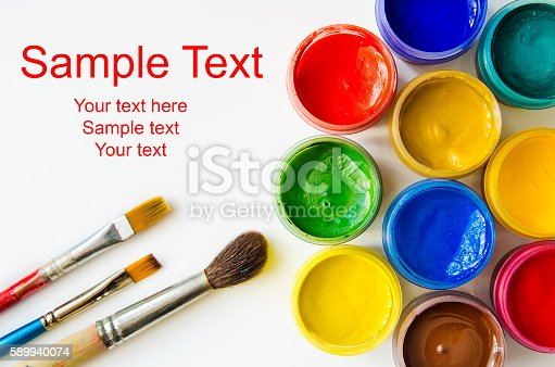istock paints and brushes 589940074