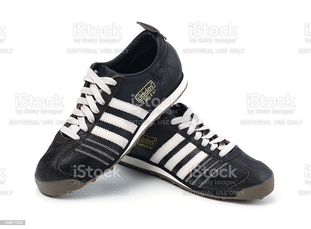 pair of adidas stock photo