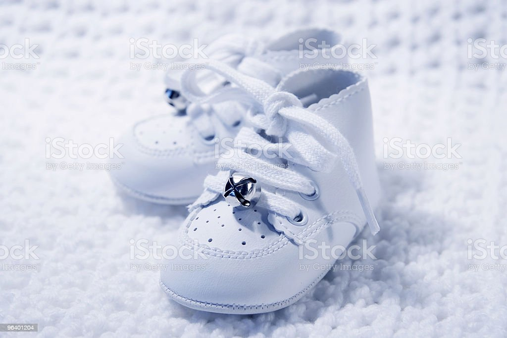 Pair Of Baby Shoes 2 - Royalty-free Beauty In Nature Stock Photo