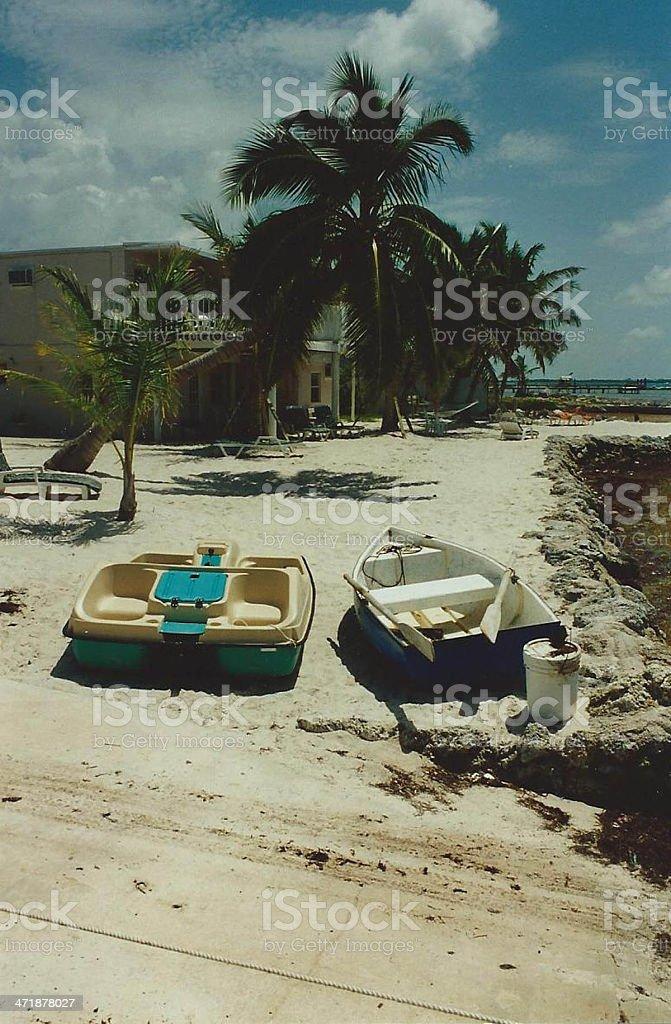 pair of boats royalty-free stock photo