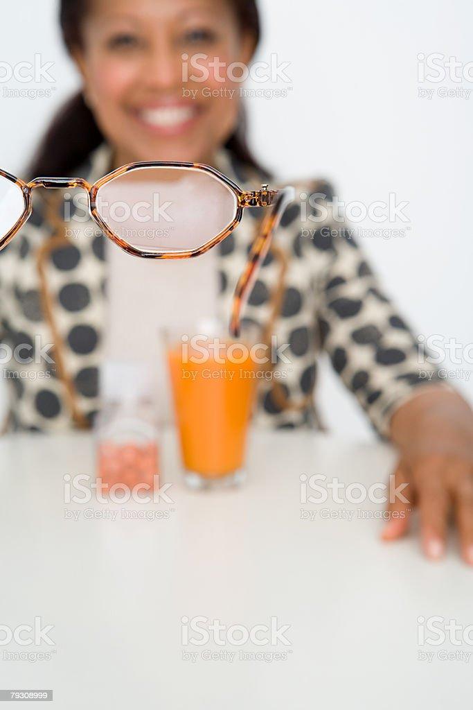 A pair of glasses 免版稅 stock photo