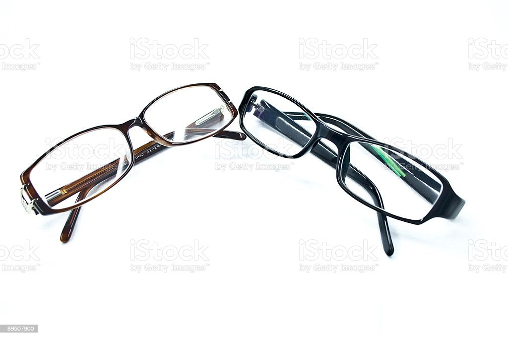 pair of glasses royalty-free stock photo