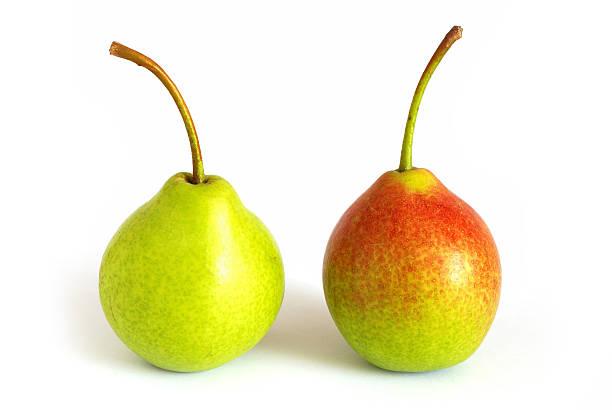 paar pears - b767 stock-fotos und bilder