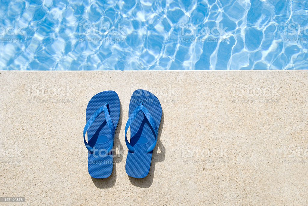 Pair of sandals stock photo