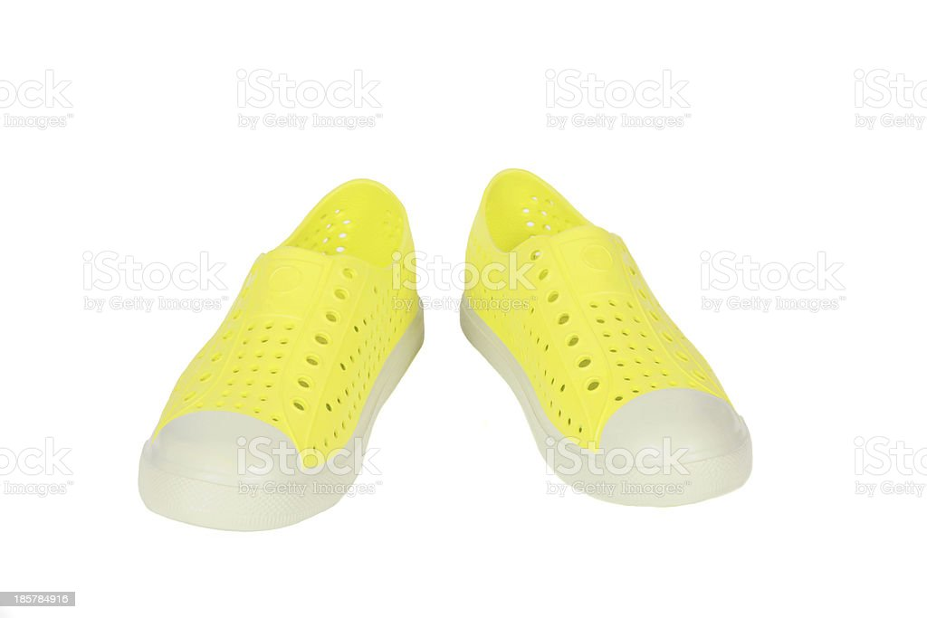 Pair of  shoes isolate in white background. royalty-free stock photo