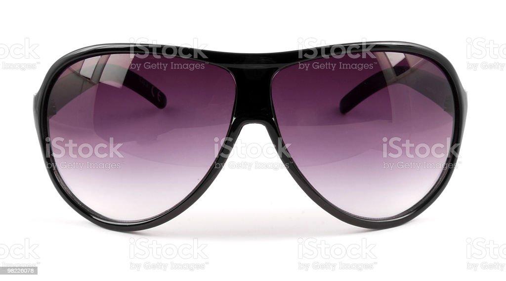 Pair of sunglasses royalty-free stock photo