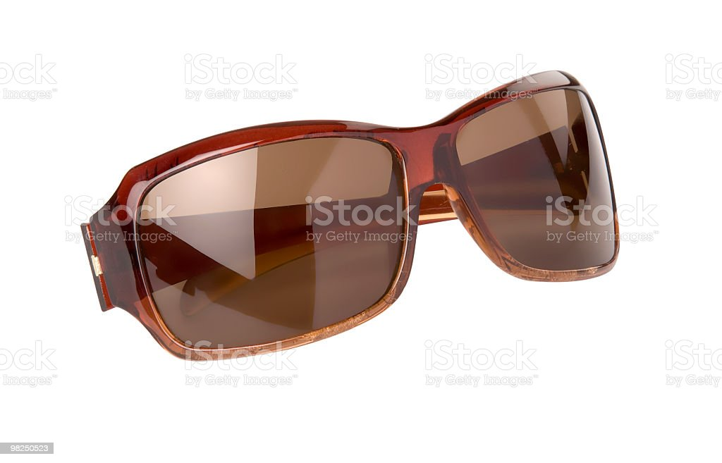 Pair of sunglasses with clipping path. royalty-free stock photo