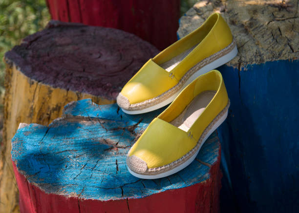 Pair of yellow espadrilles in nature picture id1083359660?b=1&k=6&m=1083359660&s=612x612&w=0&h=o8pvs34hkkmx sz3 llmqr7eu5ghariav1ms3zg3etw=