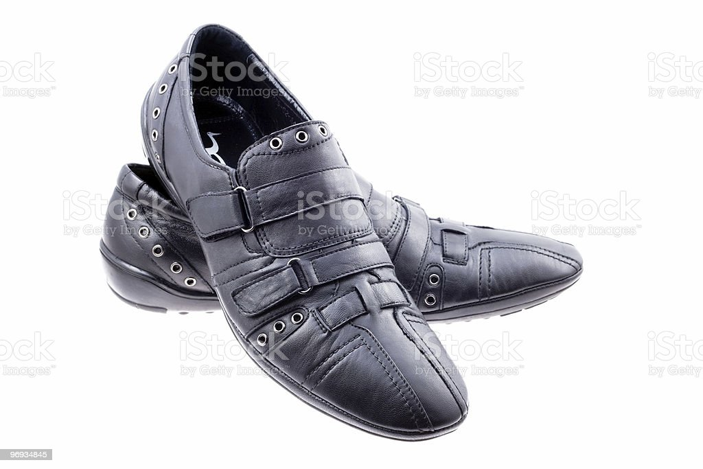 Pair shoes royalty-free stock photo