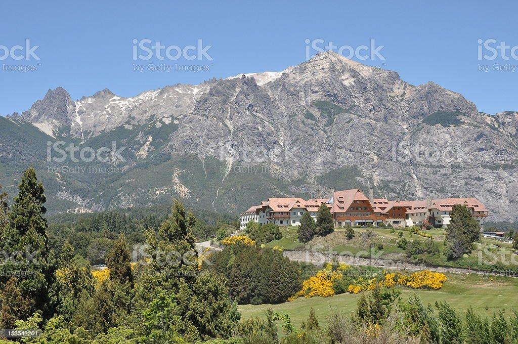 Paisaje de Patagonia royalty-free stock photo