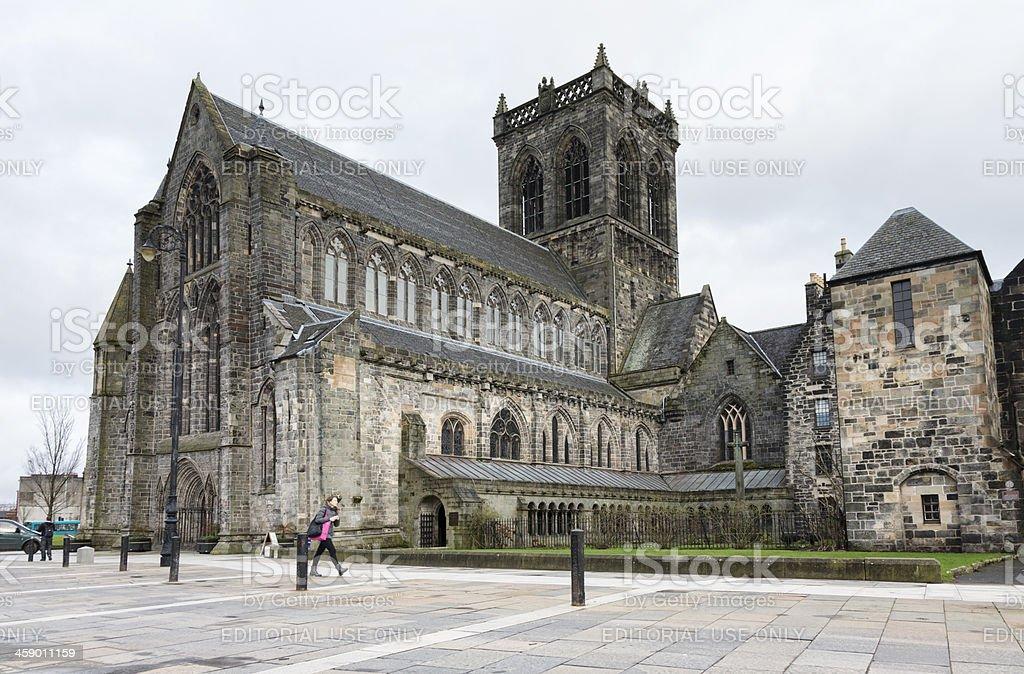 Paisley Abbey stock photo