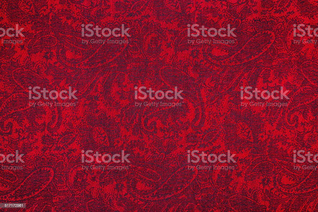 Paisley pattern textile stock photo