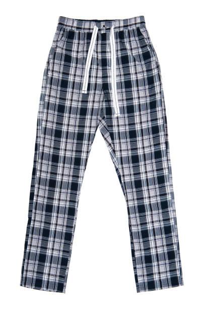 pijamas, isoladas no fundo branco - calça comprida - fotografias e filmes do acervo