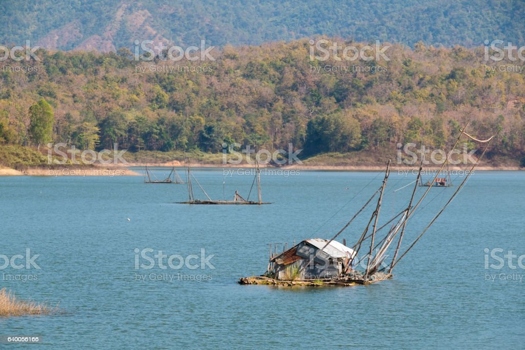 Pak nai, Fisherman village stock photo