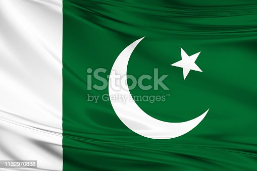 istock pakistan flag 1132970838