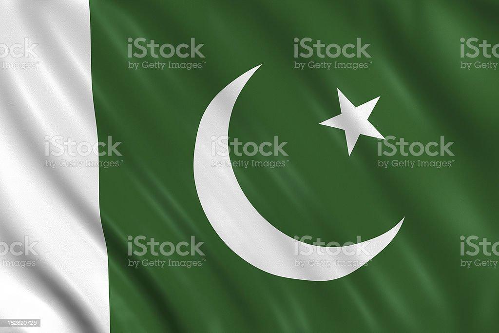 pakistan flag stock photo