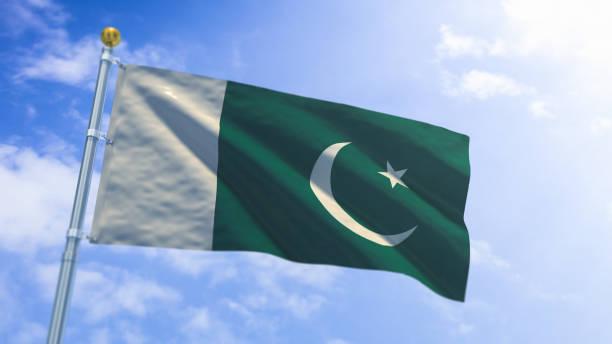 pakistan flag - pakistani flag stock photos and pictures