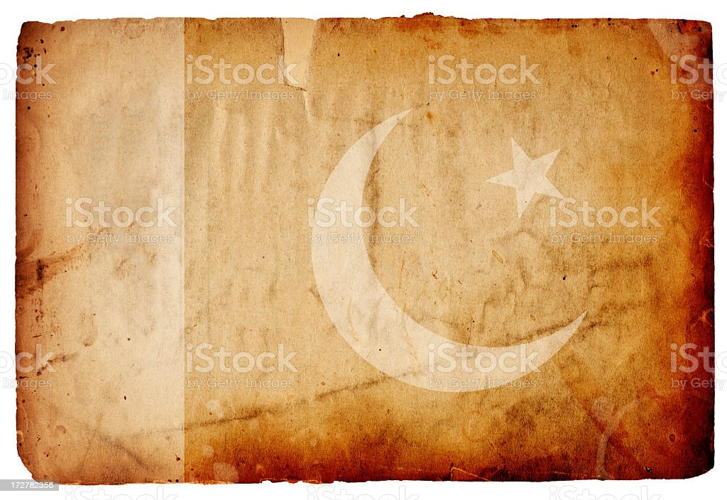 Pakistan Flag XXXL royalty-free stock photo