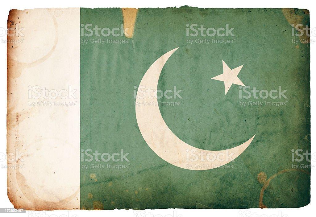Pakistan Flag XXXL royalty-free stock photo