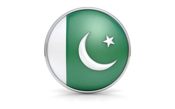 pakistani flag - pakistani flag stock photos and pictures